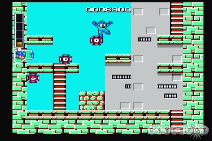 The few mechanical additions made to the older Mega Man games are in no way problematic. In fact, they're extremely useful.