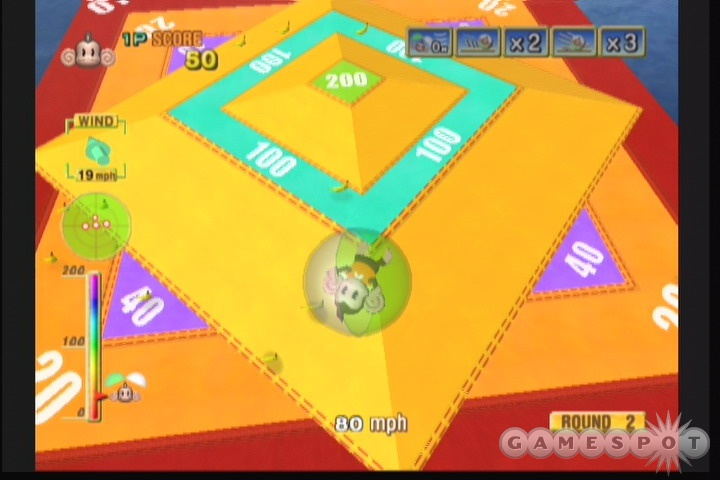 Hamsters would've made more sense, but since when is Super Monkey Ball about making sense?