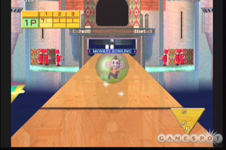 It doesn't pop quite like it used to, but Super Monkey Ball Deluxe is still a great package.