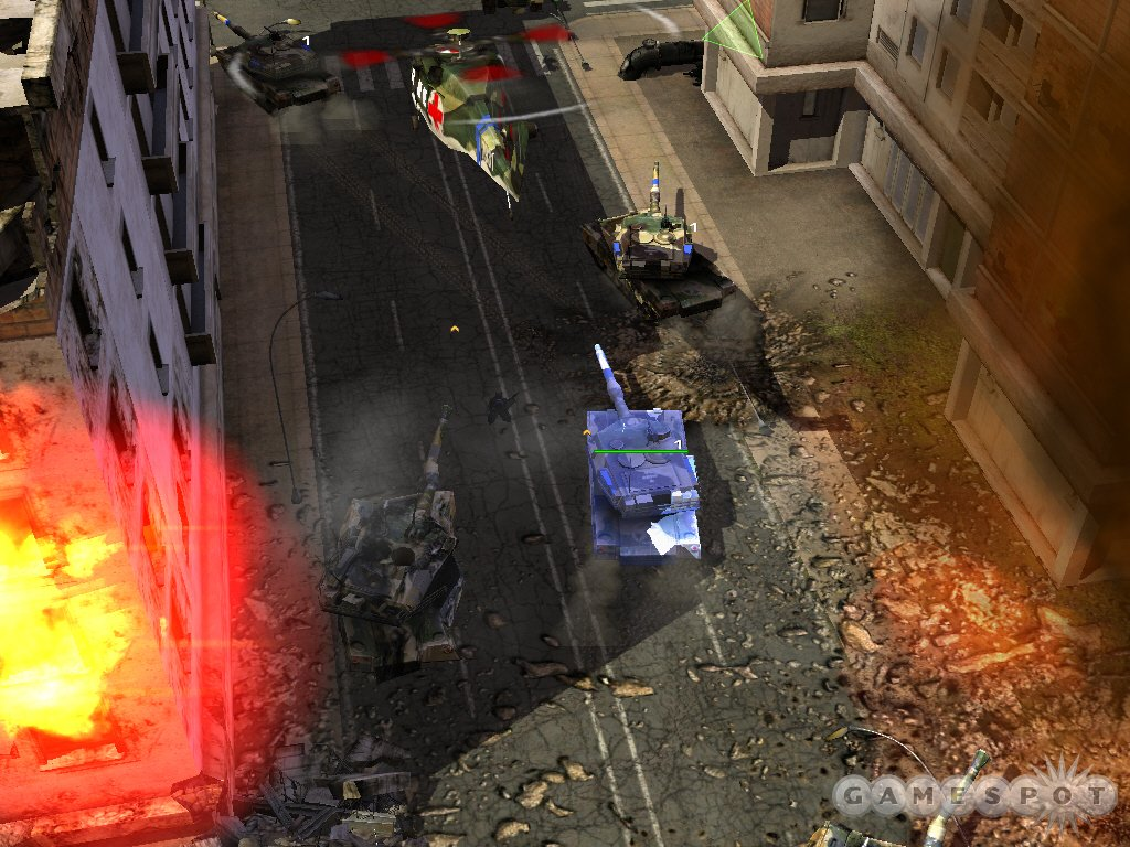 Urban combat is easily one of the game's best features, because it makes infantry useful for a change.