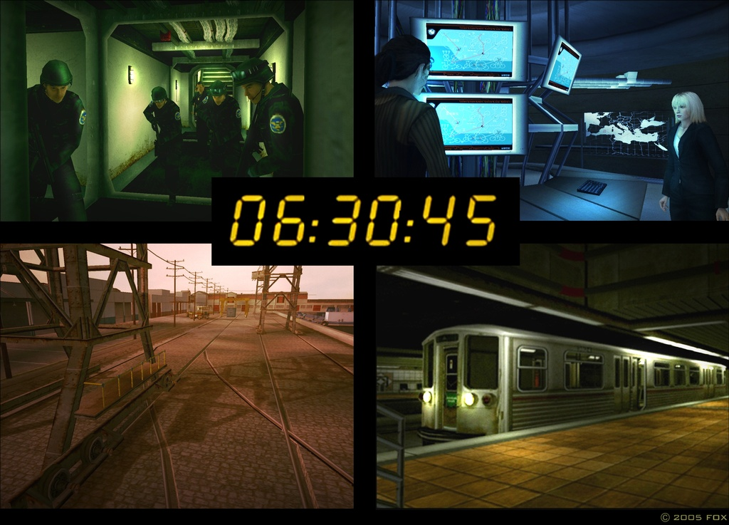 Jack Bauer's power hour will hit PlayStation 2s in the fourth quarter, though a US release has not yet been announced.