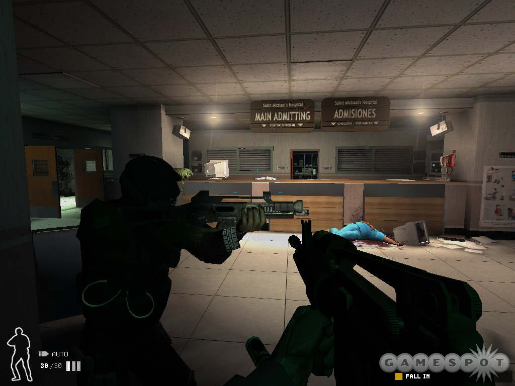 The level architecture in SWAT 4 is one of the best aspects of the game.