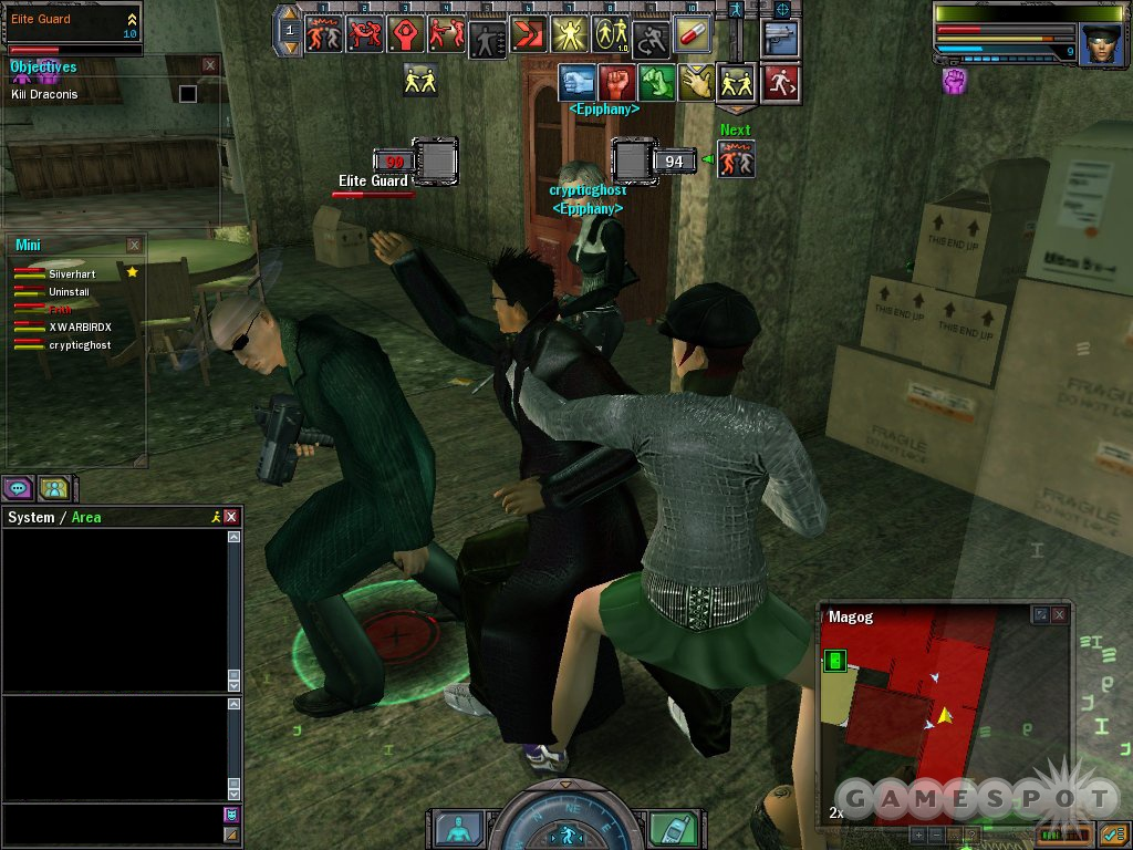 The interlock combat system sometimes produces great-looking results, but just as often it doesn't look quite right.
