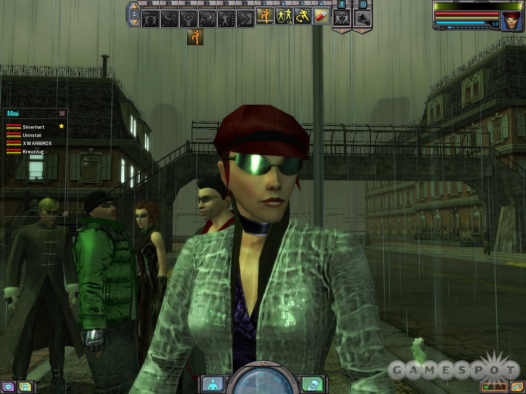 You, too, can make a shameless rip-off of Trinity in The Matrix Online.