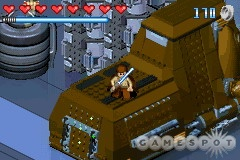 The characters and a good portion of the environment are made up of Lego bricks.