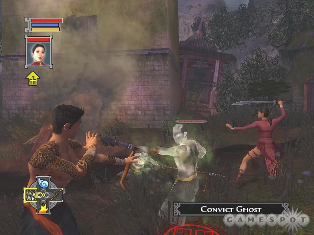 Combat in Jade Empire is fast-paced and fairly fun, but it's actually the game's weak point.