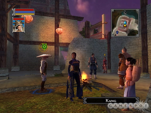A beautiful presentation helps draw you in to the mystical world of Jade Empire.