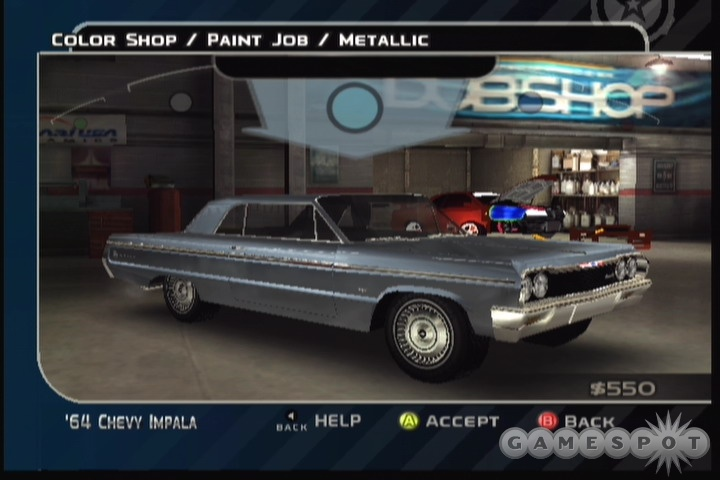 Car customization is a big part of what makes Midnight Club 3 so much fun, and you'll have a host of real licensed cars to tweak to your delight.
