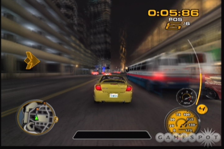 The game's sense of speed can be very impressive, provided the frame rate holds up.