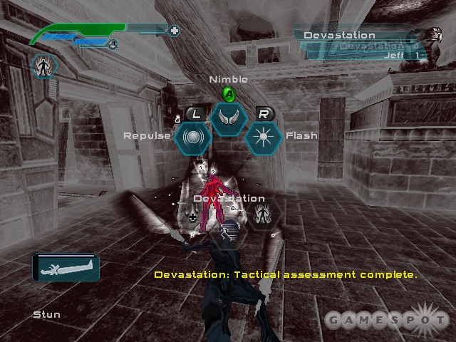 Adrenaline moves are activated via a simple in-game menu.