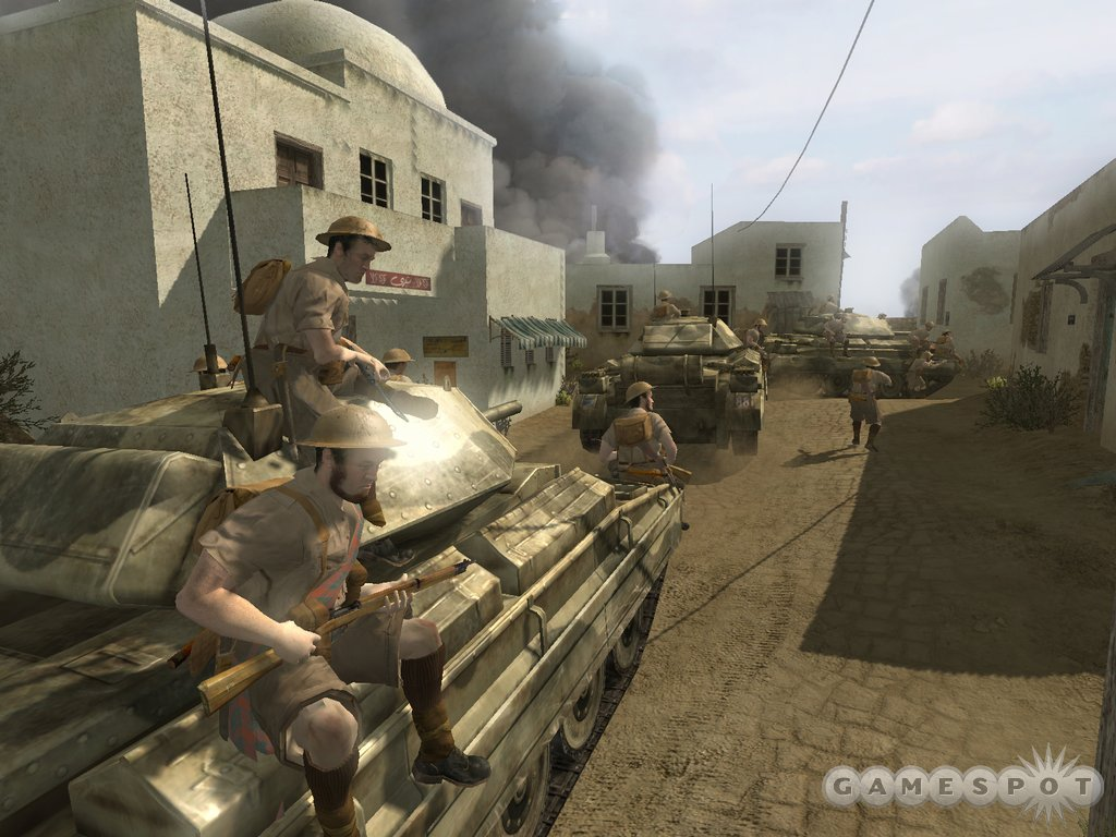 Tanks for the memories. Infinity Ward promises epic tank battles in the sequel.