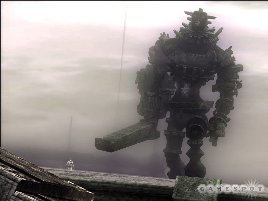 To save the life of your lost love, you'll square off against 16 truly massive, imposing beasts: the colossi.