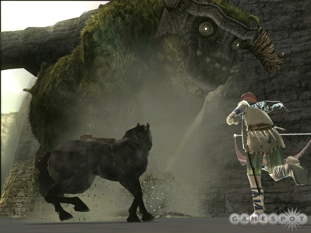 Anyone who appreciated ICO should be getting very excited for Shadow of the Colossus right about now.