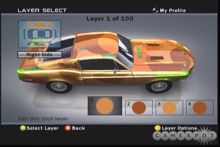 Slap some new paint on your ride and throw some decals and vinyls on there for good measure. Forza's flexible customization tools are only limited by your imagination.