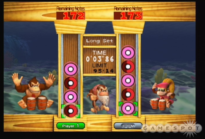 In a rhythm game like Donkey Konga 2, the song selection can make or break the experience.