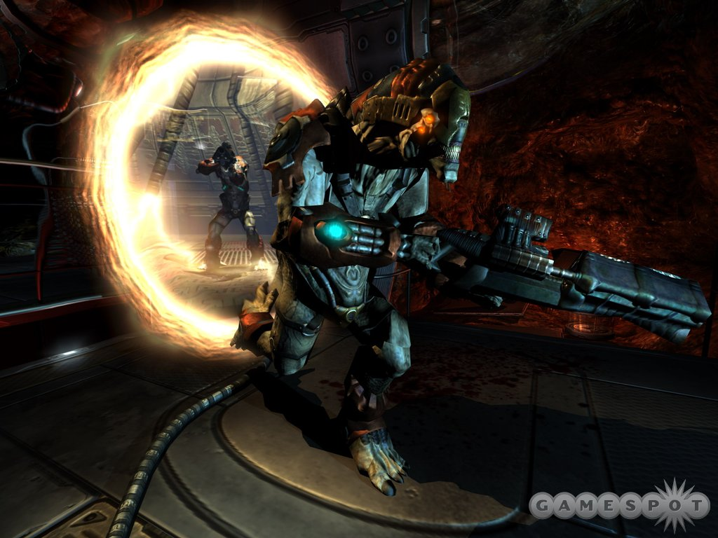 The new Prey looks nothing like the old Prey thanks to the gorgeous Doom 3 graphics engine.