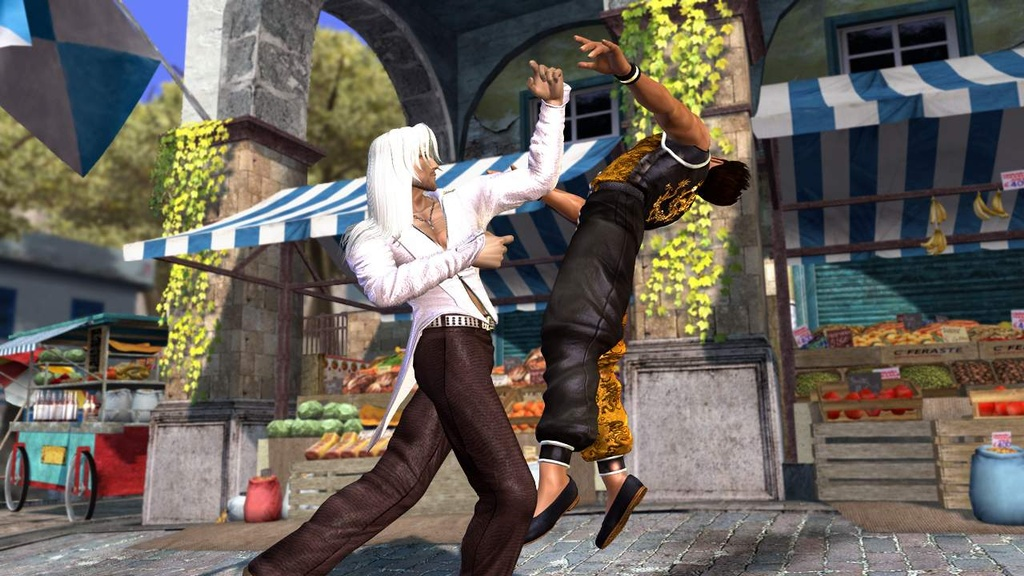 After playing hundreds of online matches, Itagaki came up with new ideas for DOA4 that went into the game's first big update.