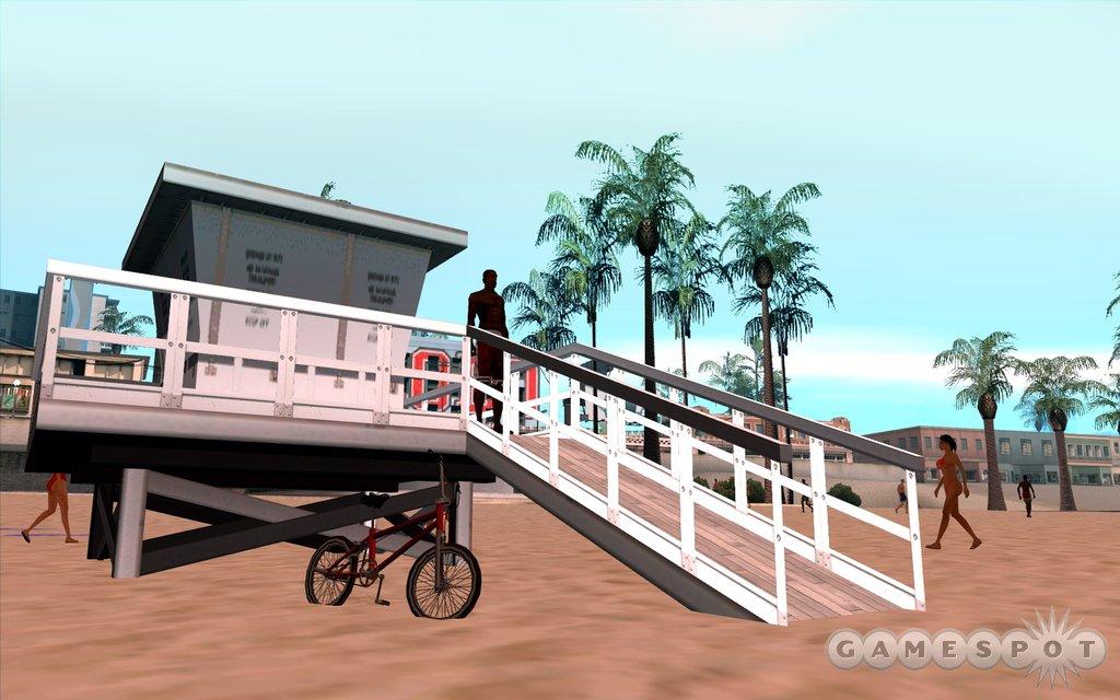 CJ and his trusty bike are never far apart.