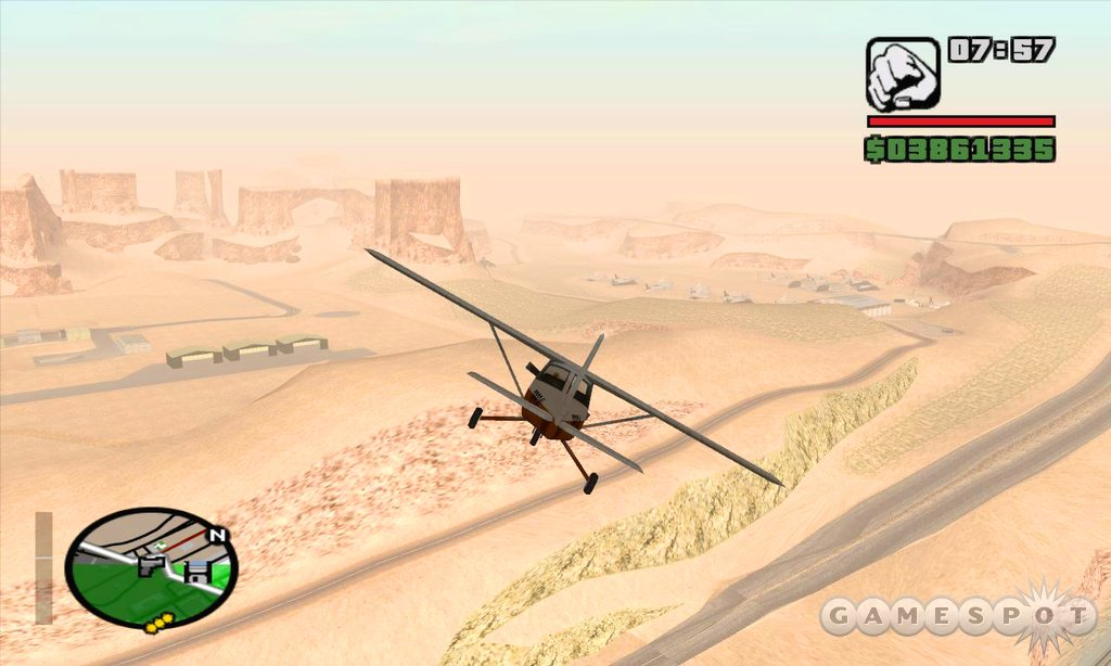 There's a lot of variety to San Andreas' gameplay, and most of its features are very well constructed.