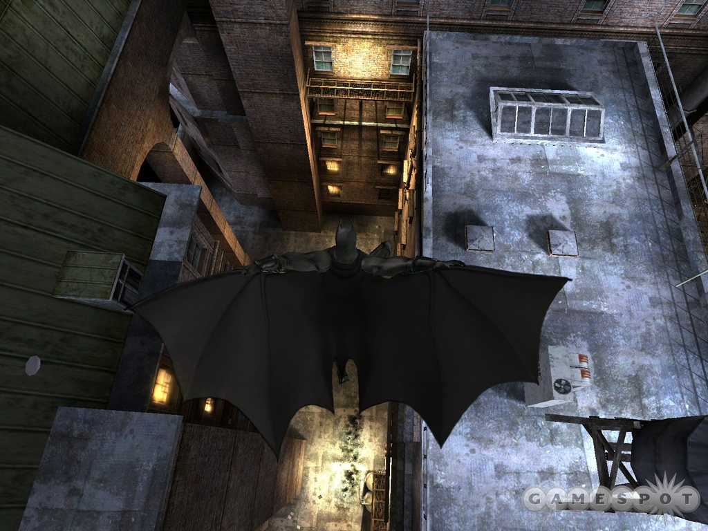 The Batman Begins game is faithful to the style and tone of the upcoming movie.