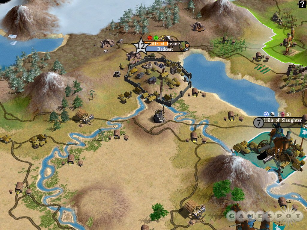 Though hard to see in a screenshot, the new 3D engine helps bring the world of Civ to life.