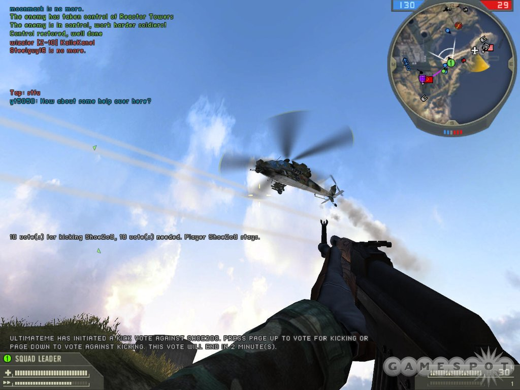 Yes, attack helicopters can ruin your day, but instead of whining about it, you should find antiaircraft defenses, or jump in a helicopter or fighter, and shoot them down.