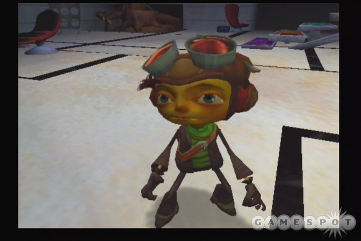 In Psychonauts, PlayStation 2 owners can now partake in the quirky psychic adventures of Razputin.