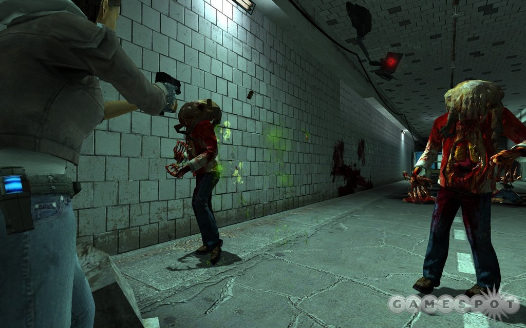 It simply would not be a Half-Life game without zombies and headcrabs.