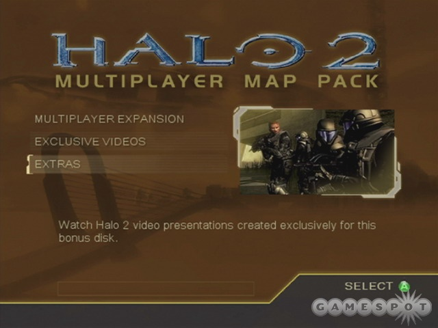 A simple menu system lets you quickly download the maps to your hard drive. Then it's time to throw Halo 2 back in your Box, where it's likely to remain for months.