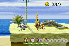 These are some of the worst graphics ever seen on the GBA.
