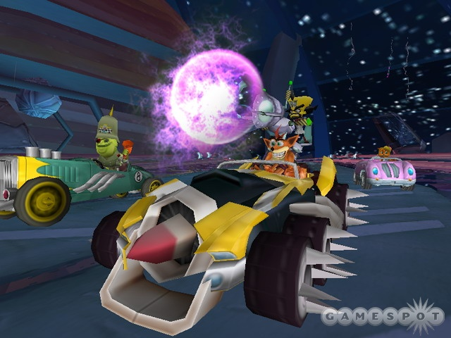 Combining with other racers to create crazy battle karts is a pretty neat idea.