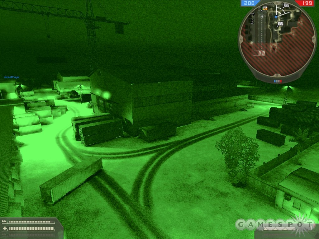 But then there's night vision, which can cut through the dark.