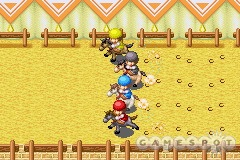 Horse racing is one of at least 20 different minigames. You can bet or participate.