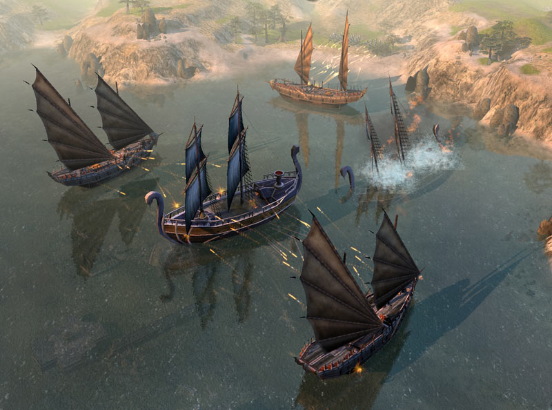 The battle for Middle-earth is about to begin, and this time it's got naval combat.