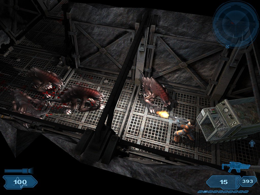 The game's monsters are appropriately grotesque and evil-looking, but the game just isn't very creepy or scary.