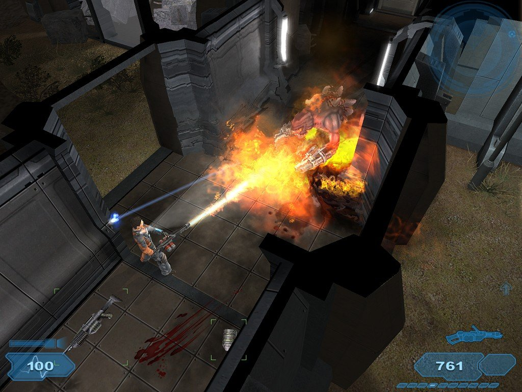 The top down shooter hasn't gotten much love in recent years, especially on the PC. Kudos to Shadowgrounds for at least trying to kickstart the genre again.