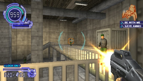 Ghost in the Shell: Stand Alone Complex is a first-person shooter for the PSP, and if that isn't enough to make you cringe, then you just might find something to like in this game.