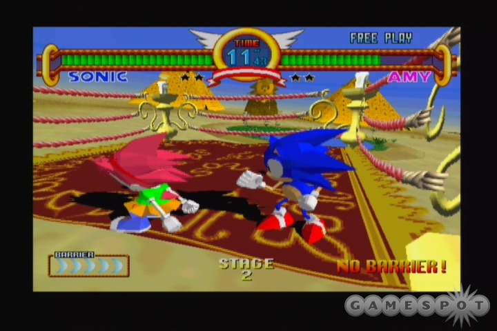Sonic Team gets obscure with Sonic Gems Collection.