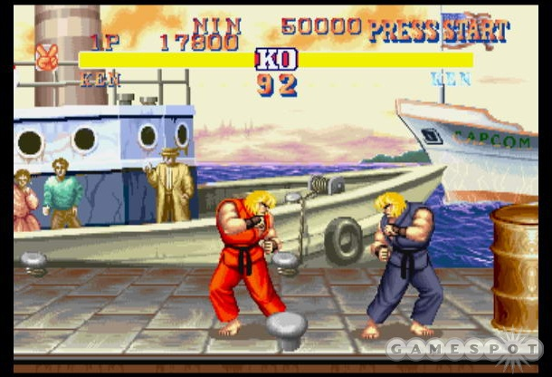 Street Fighter II could be the highlight of the package, but a few weird inaccuracies get in the way of that.