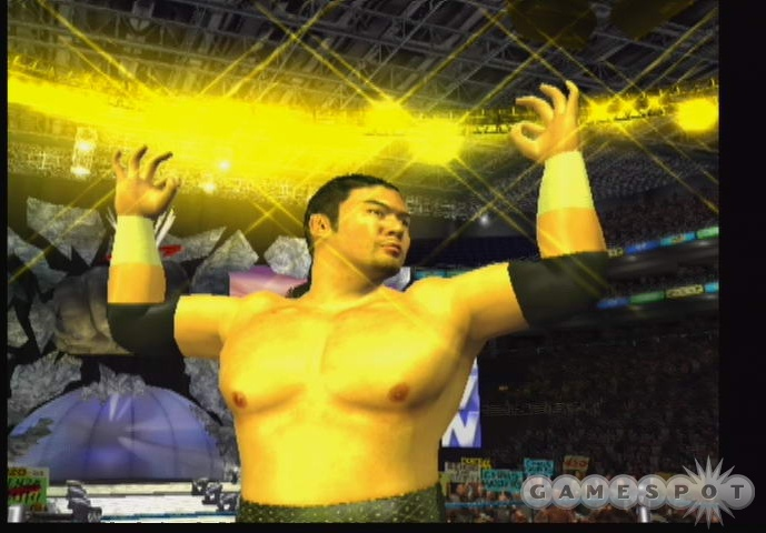 Finally! A wrestling game with Kenzo Suzuki! Because we've all been desperately wanting that, right? Right?!?