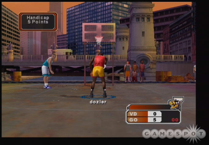 24/7 mode will take you all the way to NYC, where you'll compete in the Entertainer's Basketball Classic.