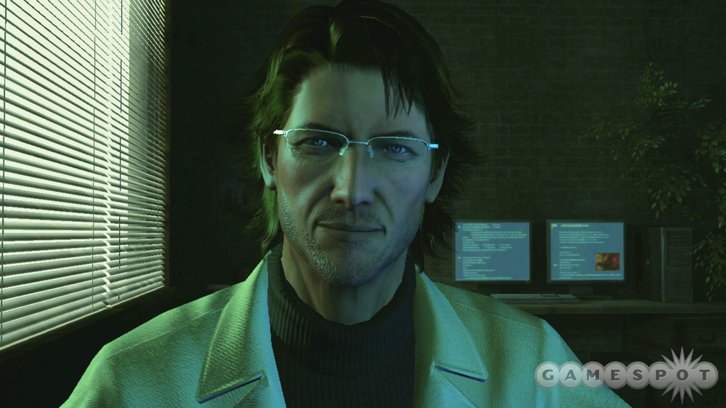 Otacon's looking a little worse for the wear, but otherwise pretty good!