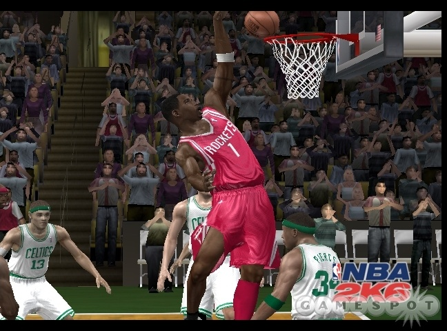 NBA 2K6 is easily the best-looking basketball game so far this year.
