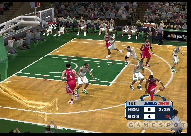 It's not for the faint of heart, but if you love hoops, you should get NBA 2K6.