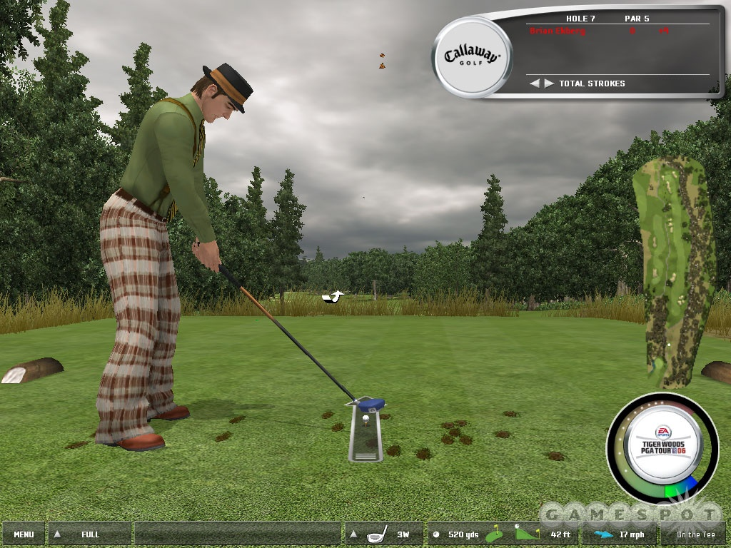 Only in golf can someone look this silly and still have massive game.