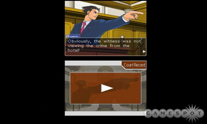 Phoenix Wright is adorable in his awkwardness.