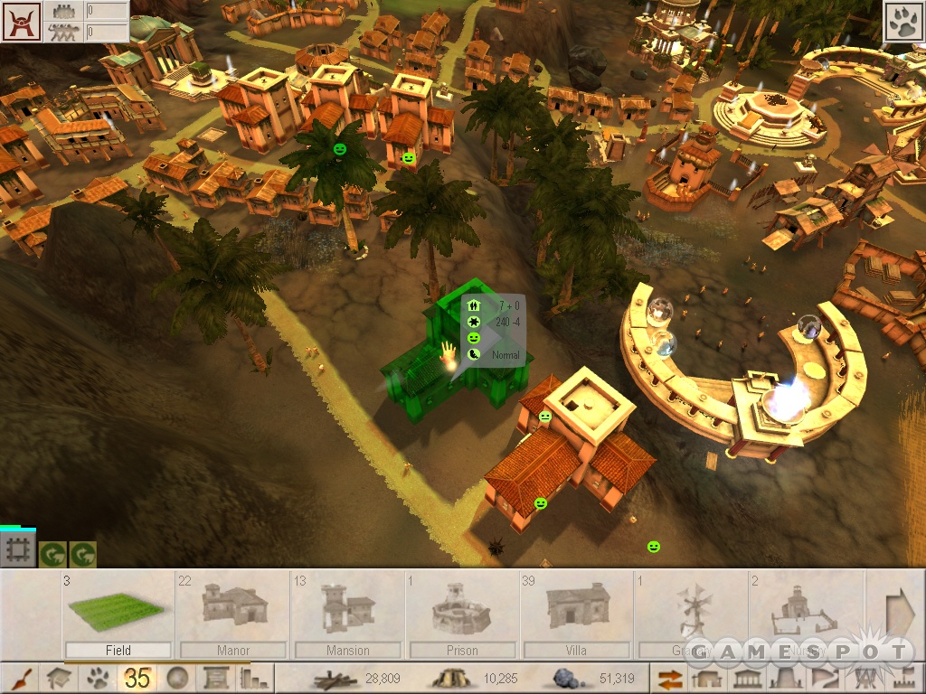 City-building is a snap. Just pick up the building you want to construct and place it down.