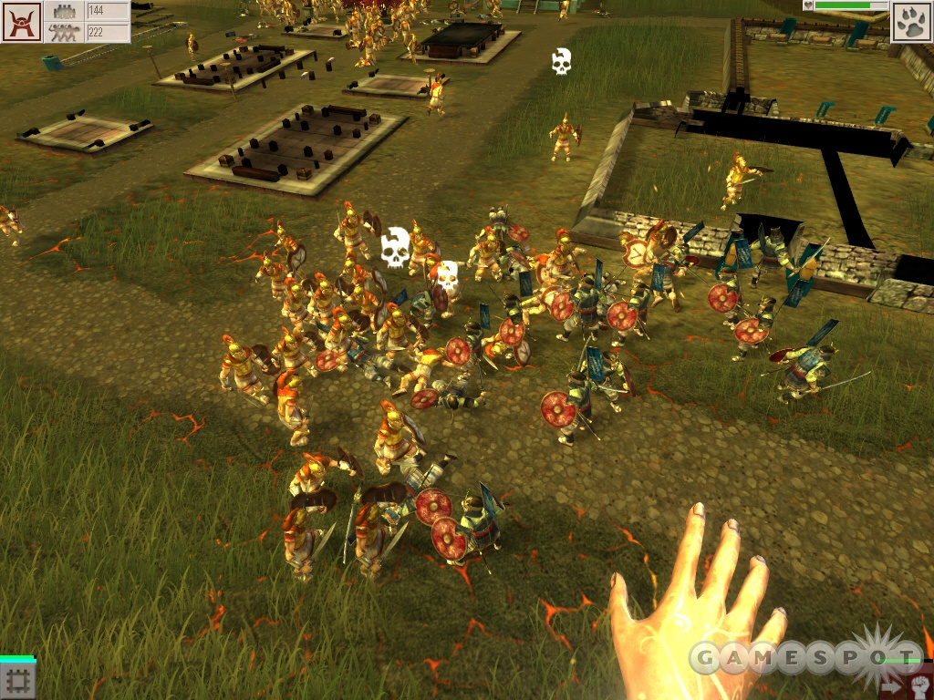 Warfare is quick and messy, and you can raise huge armies and send them into battle.