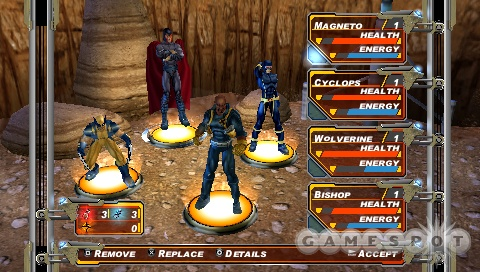 The PSP game will feature four exclusive, playable characters, nine new comic missions, and Wi-Fi multiplayer with ad hoc and infrastructure support.