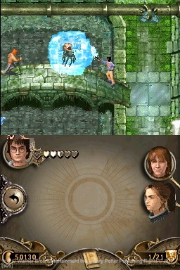 The Goblet of Fire video game follows the adventures of Harry, Ron, and Hermione.